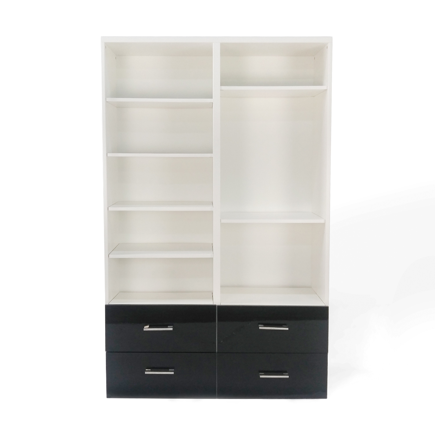 IKEA IKEA Double Shelf and Drawer Set dimensions