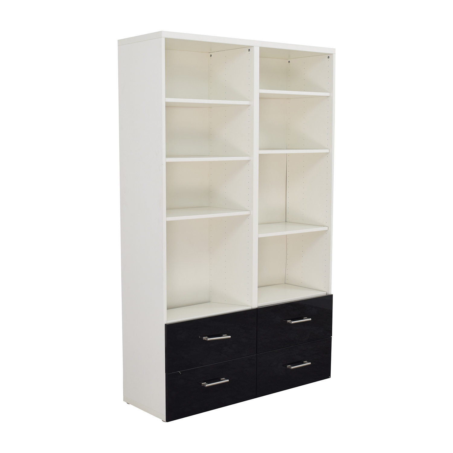 shop IKEA Double Shelf and Drawer Set IKEA Storage