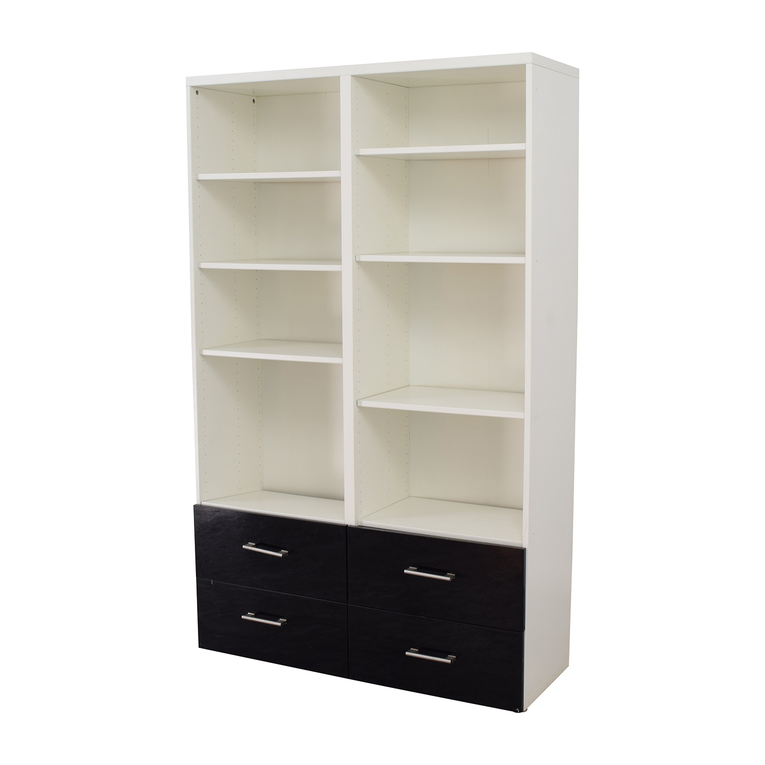 78 off ikea ikea double shelf and drawer set storage. Black Bedroom Furniture Sets. Home Design Ideas