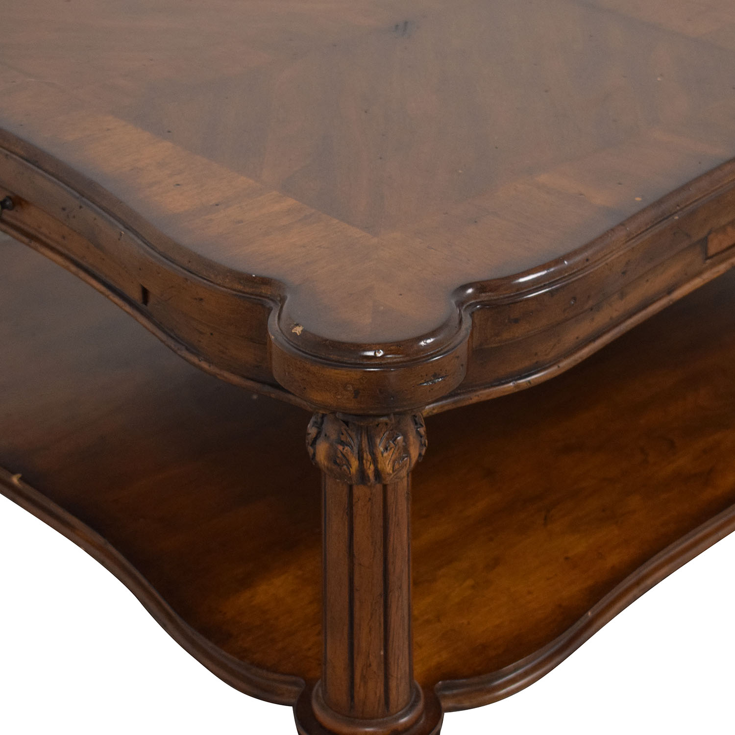 Ethan Allen Ethan Allen Coffee Table with Trays ct