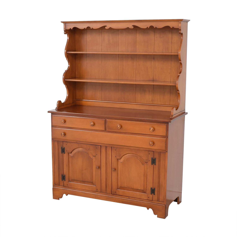 Whitney Antique China Cabinet