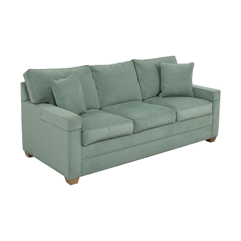 Ethan Allen Ethan Allen Three Seat Sofa light green