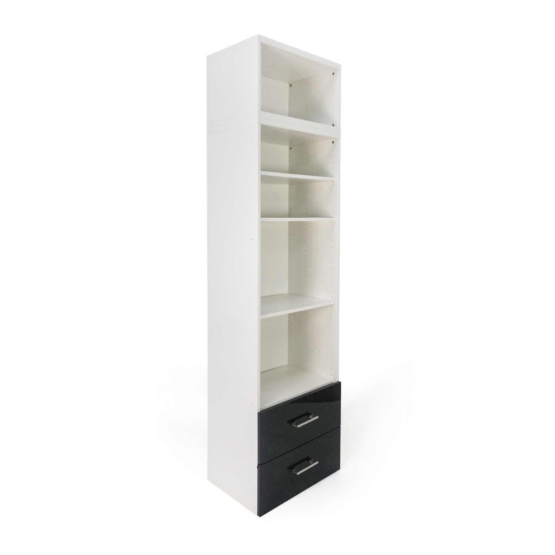 60 Off Ikea Tall Shelf And Drawer Set Storage