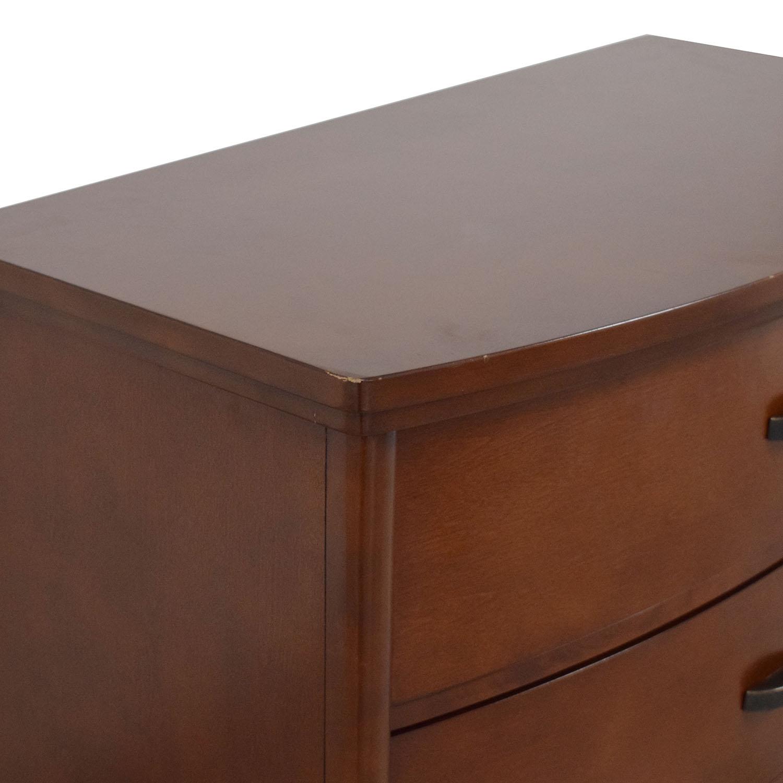 Crate & Barrel Porto 4-Drawer Chest / Storage