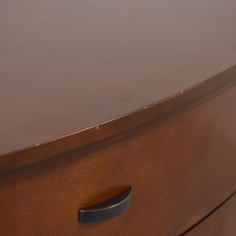 buy Crate & Barrel Porto 4-Drawer Chest Crate & Barrel Storage