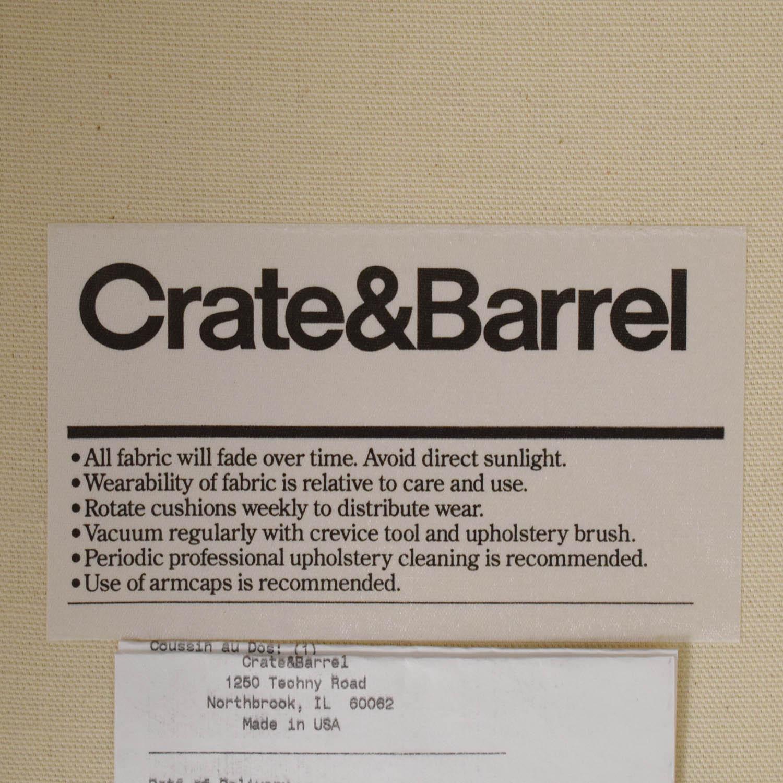 Crate & Barrel Crate & Barrel Bayside Swivel Glider pa