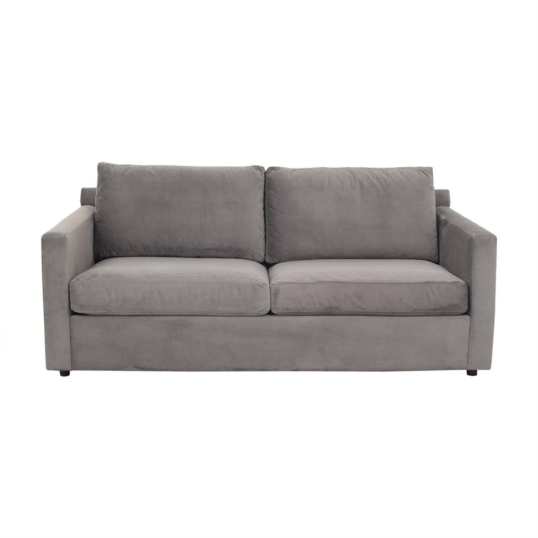 Crate & Barrel Barrett Queen Sleeper Sofa / Sofas