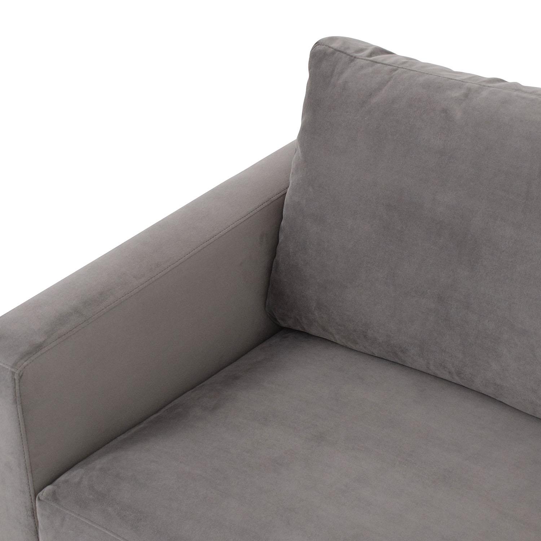 buy Crate & Barrel Crate & Barrel Barrett Queen Sleeper Sofa online