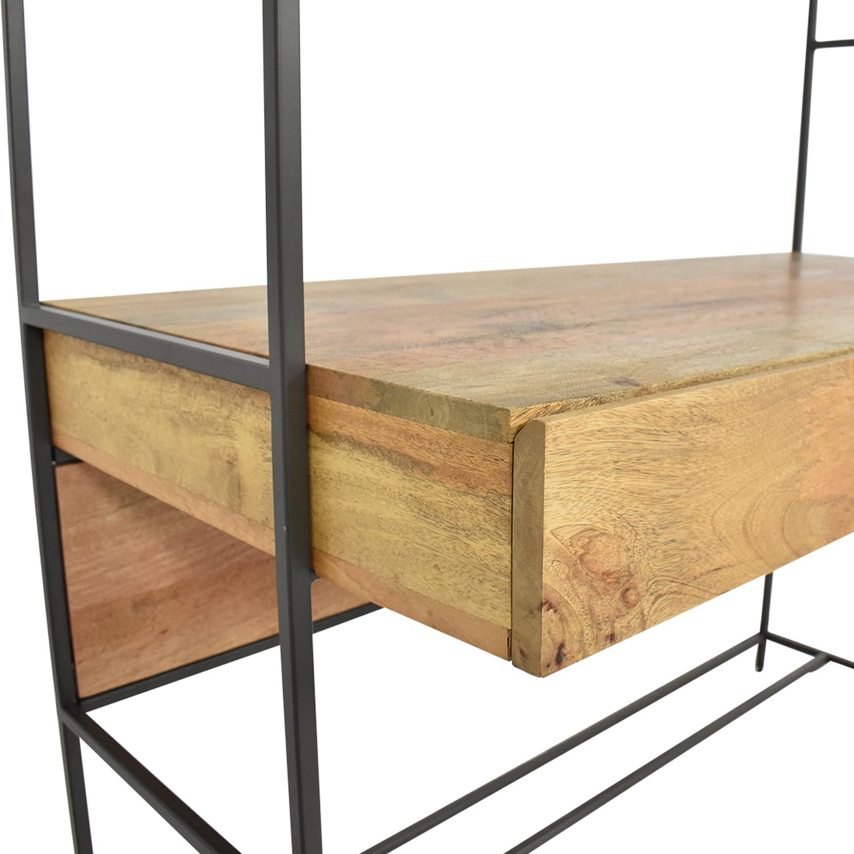 buy West Elm Industrial Modular Desk West Elm Bookcases & Shelving