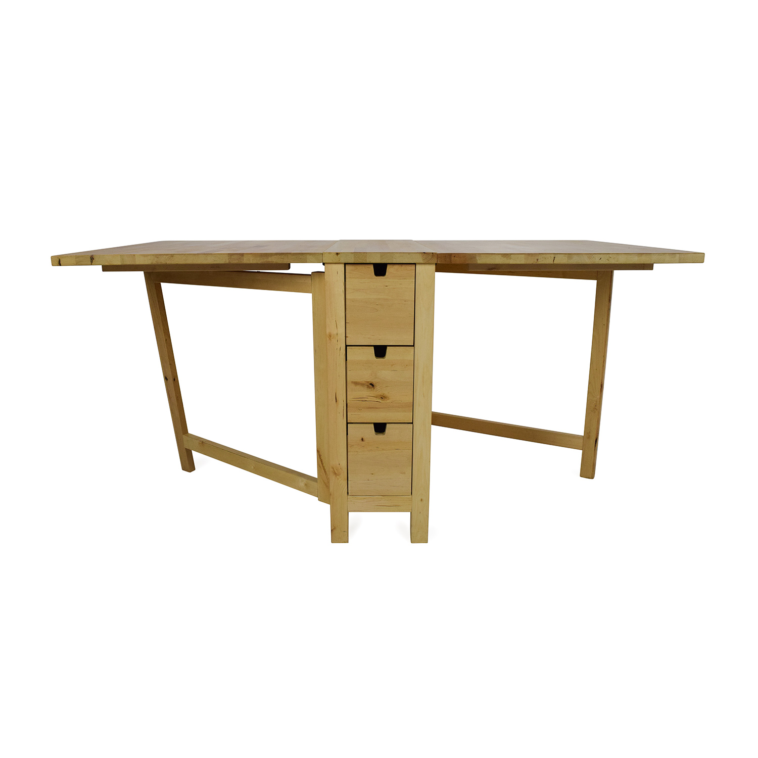 72% OFF - IKEA IKEA Foldable Kitchen Table and Desk / Tables