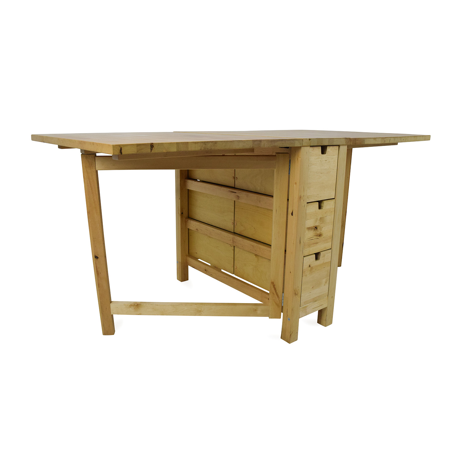 72 off ikea ikea foldable kitchen table and desk tables for Kitchen table