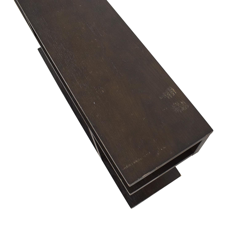 West Elm West Elm Bookshelf Side Table dimensions