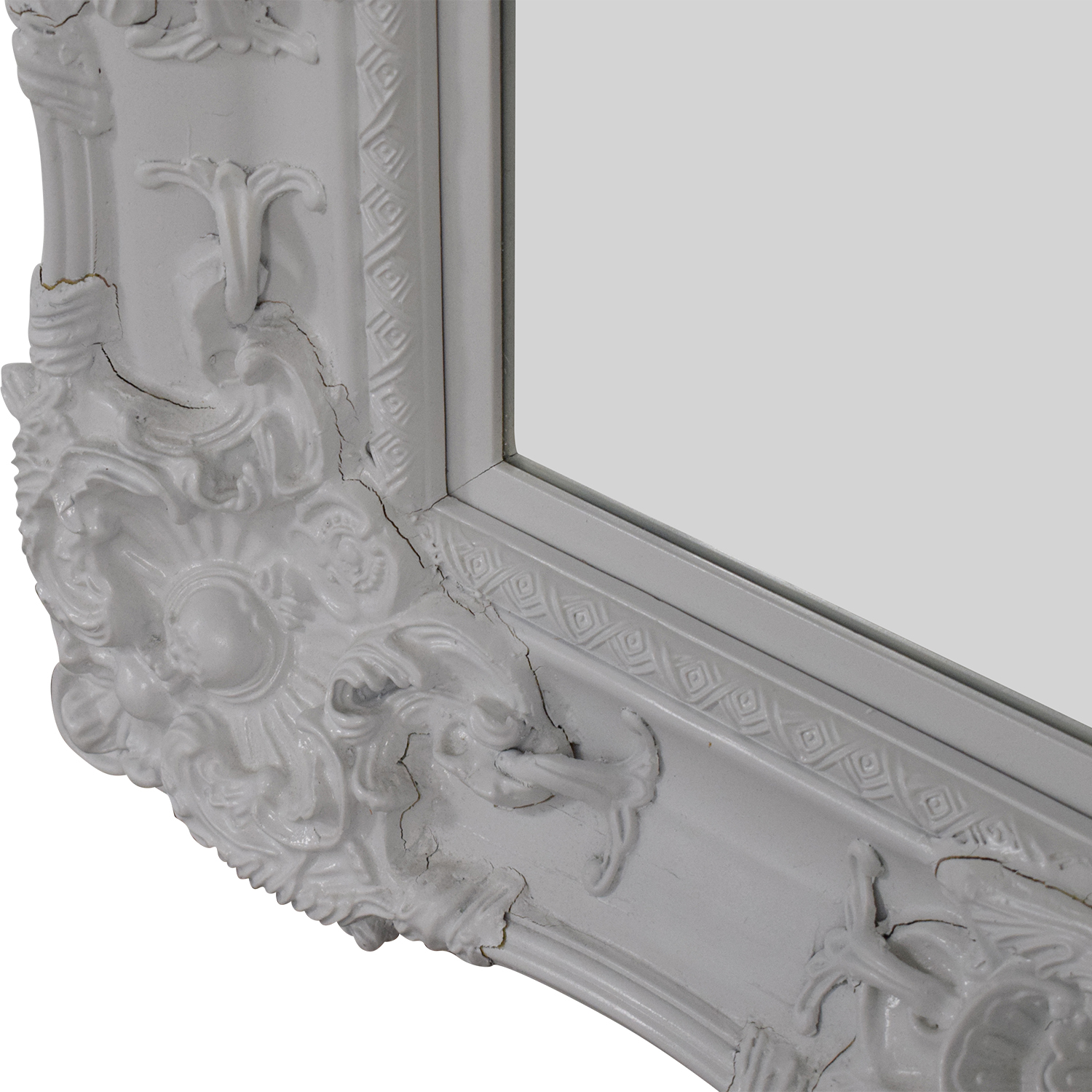 Ornate Rectangular Mirror for sale