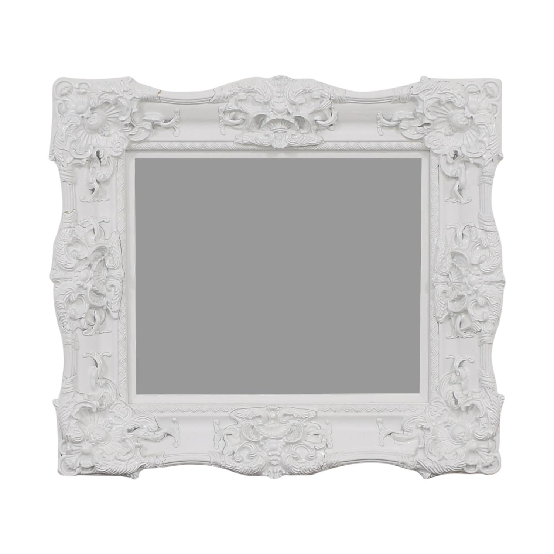 Ornate Rectangular Mirror Mirrors