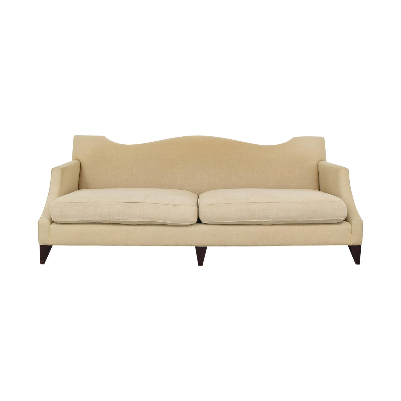 Baker Furniture Two Cushion Camelback Sofa / Sofas