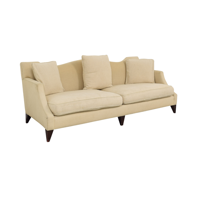 Baker Furniture Baker Furniture Two Cushion Camelback Sofa nj