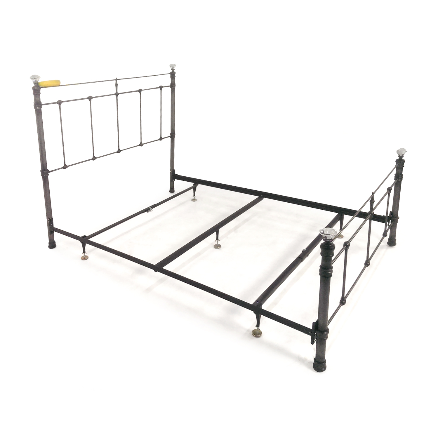 shop Pottery Barn Claudia Queen Metal Bed Pottery Barn