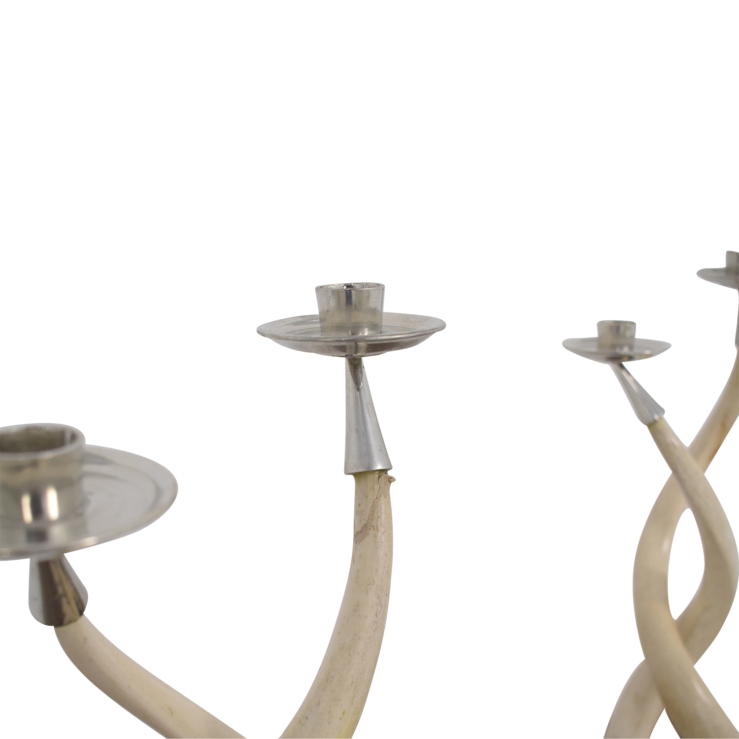 shop Twisted Horn Candlesticks  Decorative Accents