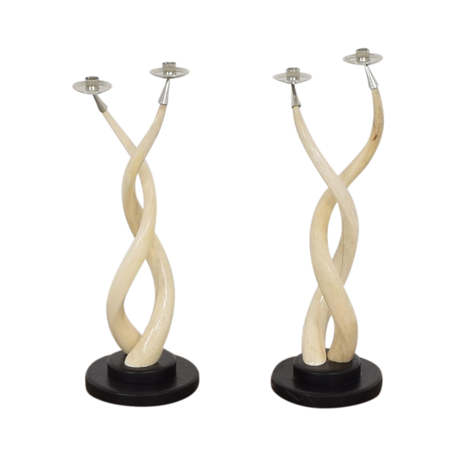 buy  Twisted Horn Candlesticks online