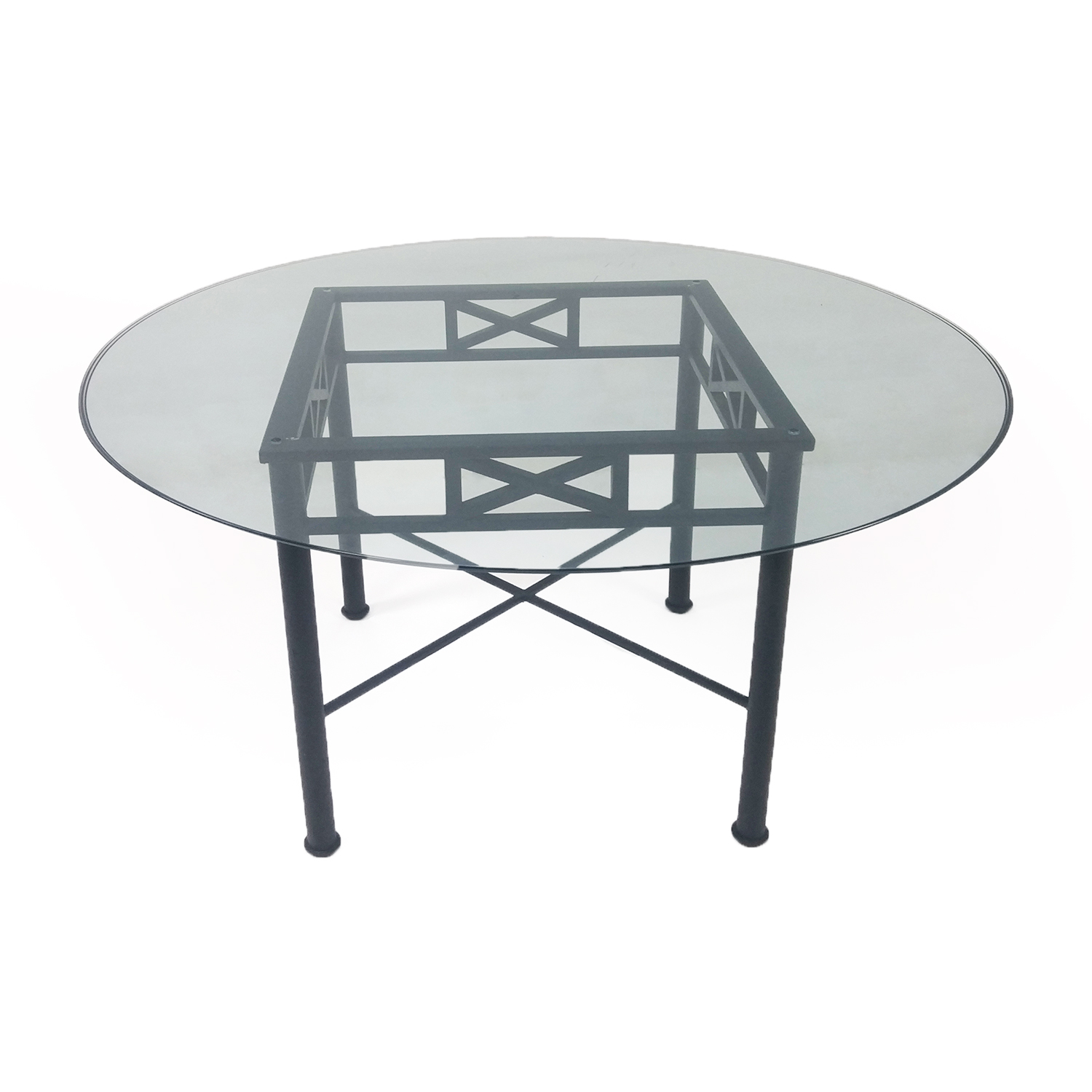 Used Glass Dining Table Dining Glass Table 187 Page 5