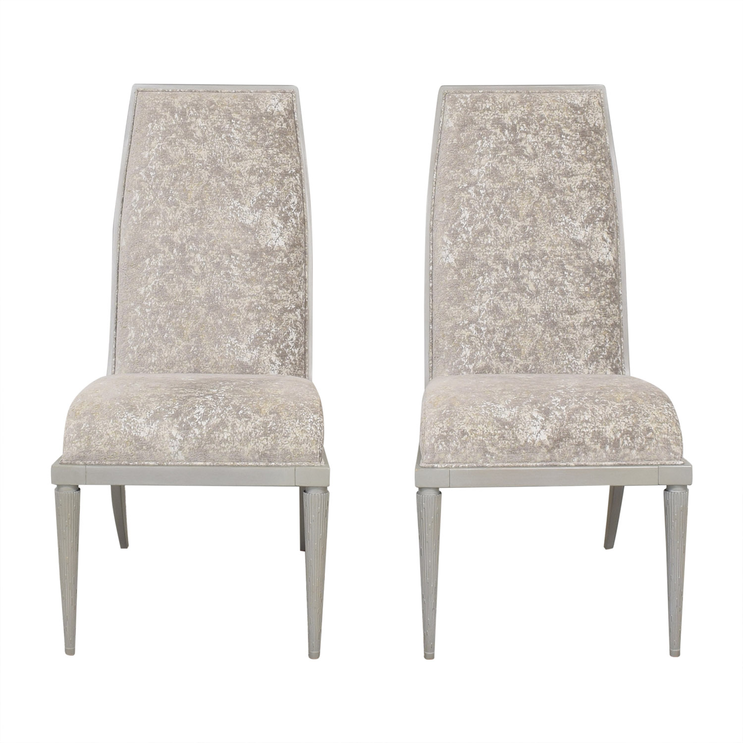 Baker Furniture Baker Furniture Jasper Side Dining Chairs grey