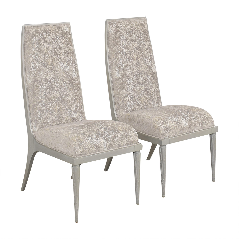 Baker Furniture Baker Furniture Jasper Side Dining Chairs nj
