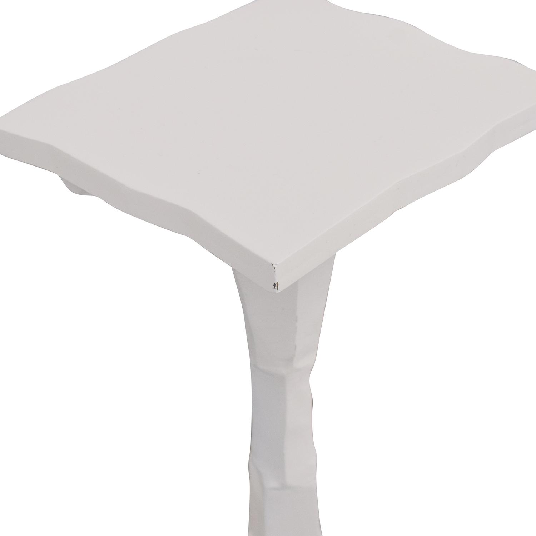 shop Pedestal Side Table  End Tables