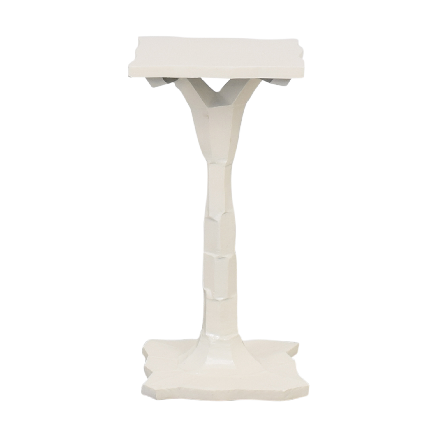 Pedestal Side Table / End Tables