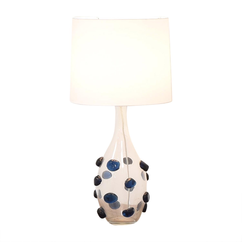 Glass Table Lamp Decor