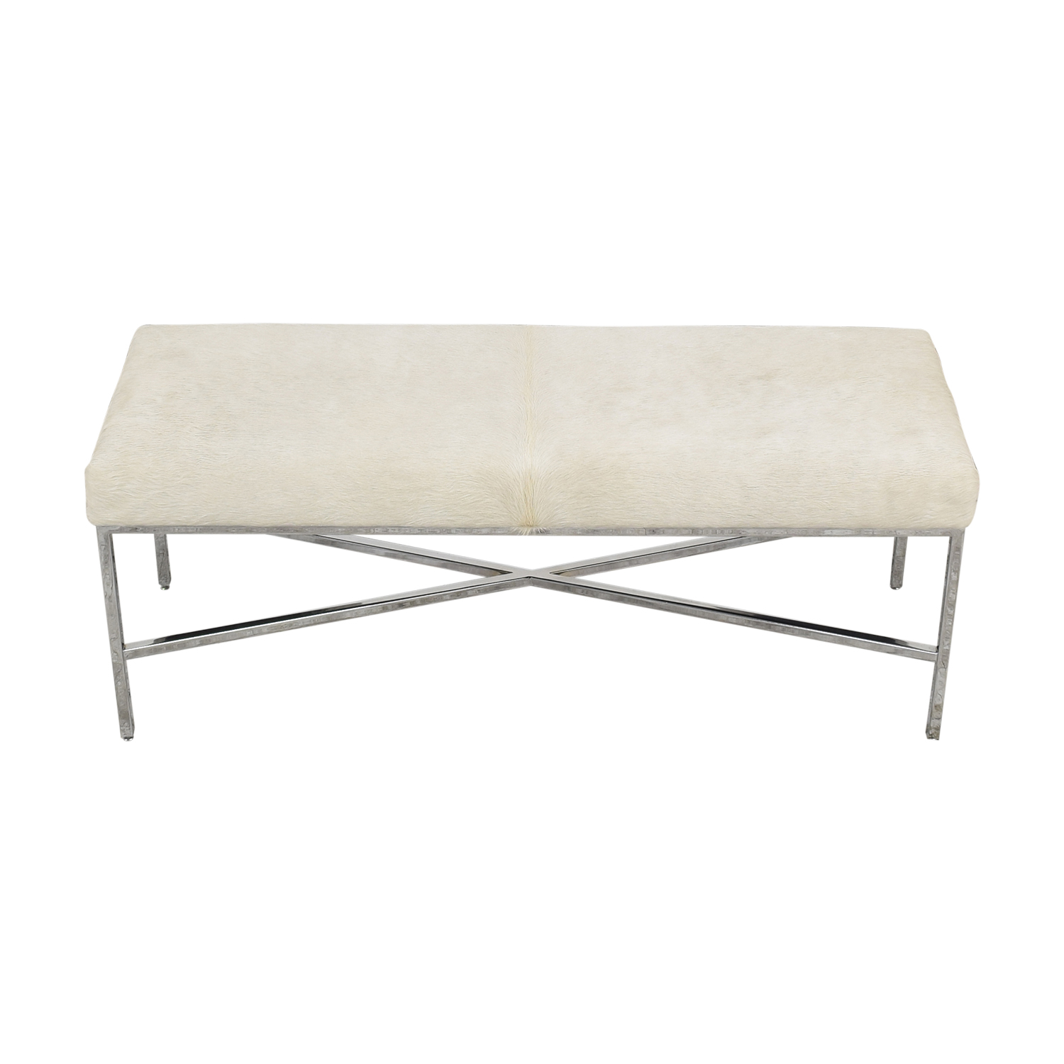 shop Outpost Original Outpost Original Metal Bench with Cowhide online