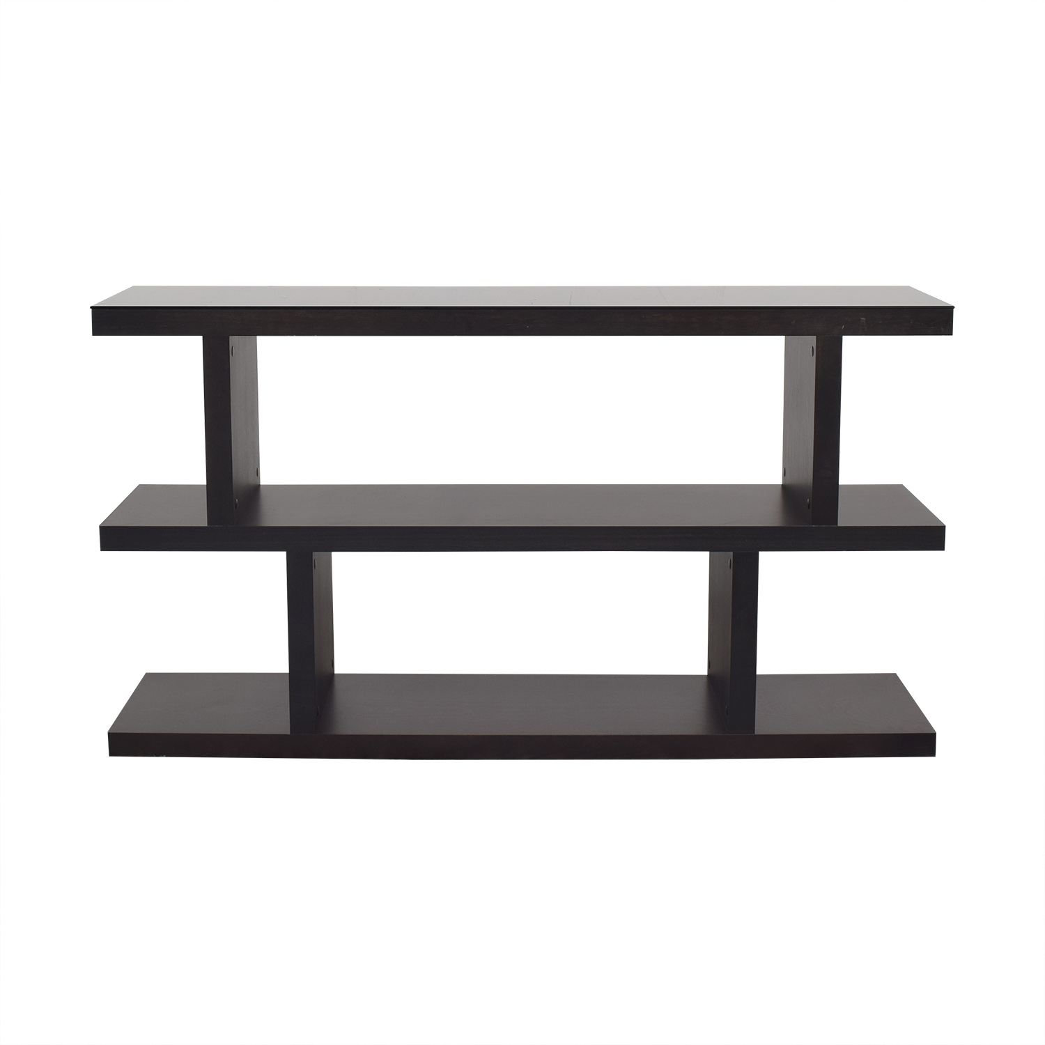 buy Crate & Barrel Crate & Barrel Contemporary Style Two High Shelving Unit online