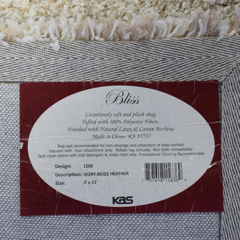 buy KAS Bliss Heather Shag Area Rug KAS Rugs Rugs