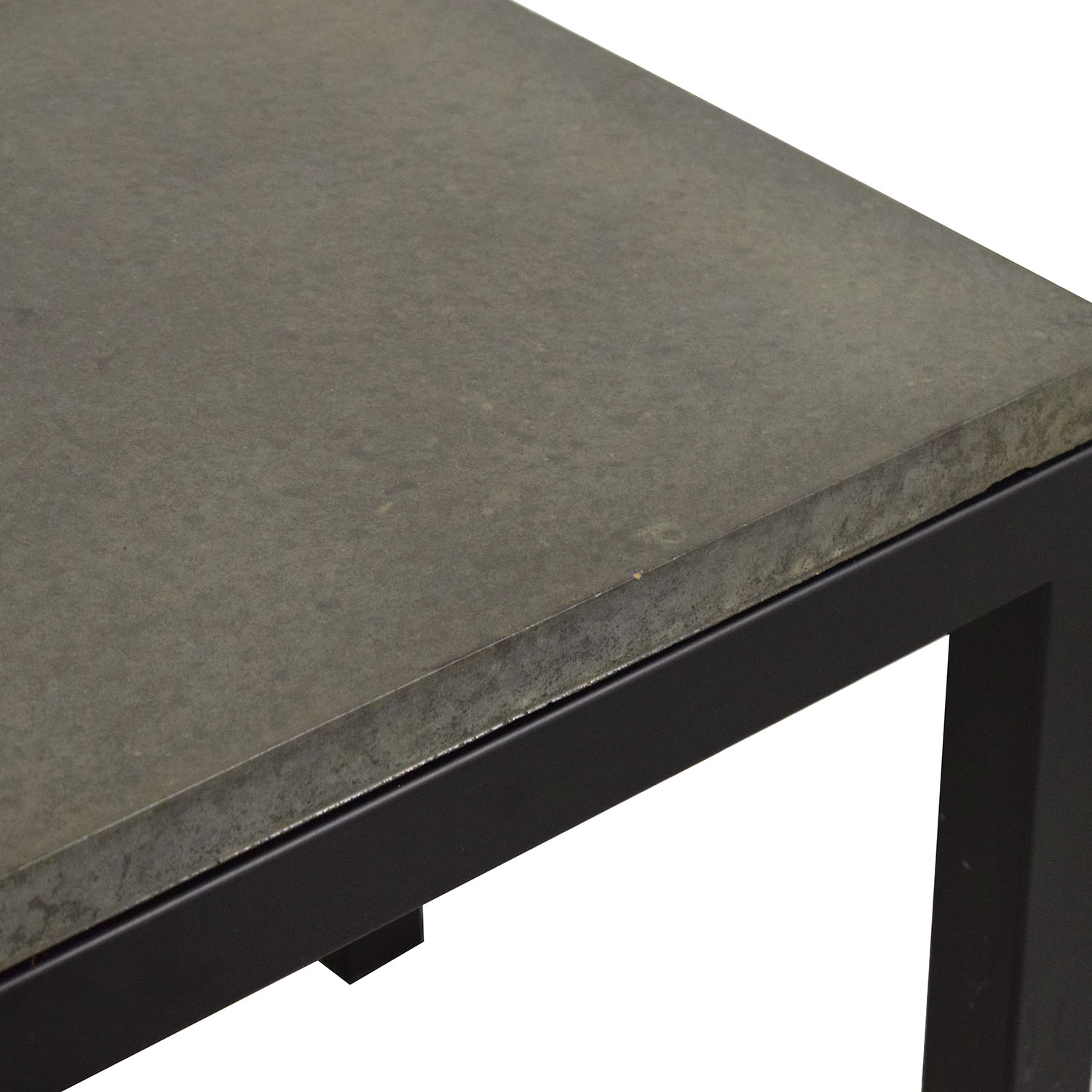 Room & Board Parsons Concrete End Table / Tables