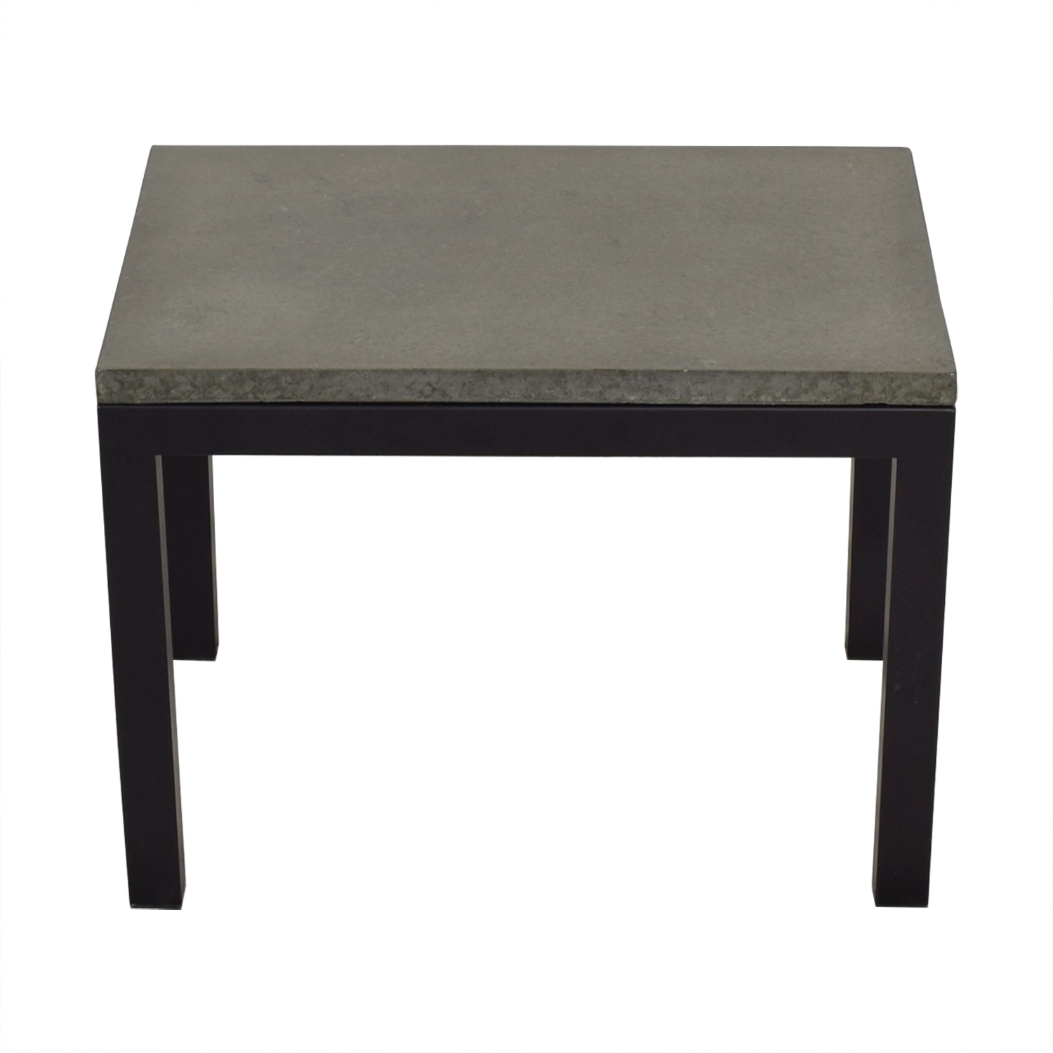 Room & Board Room & Board Parsons Concrete End Table black and dark grey