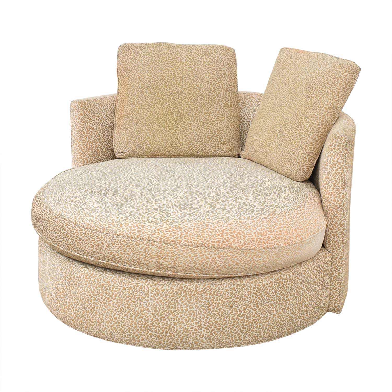 Macy's Macy's Circle Swivel Chair nj