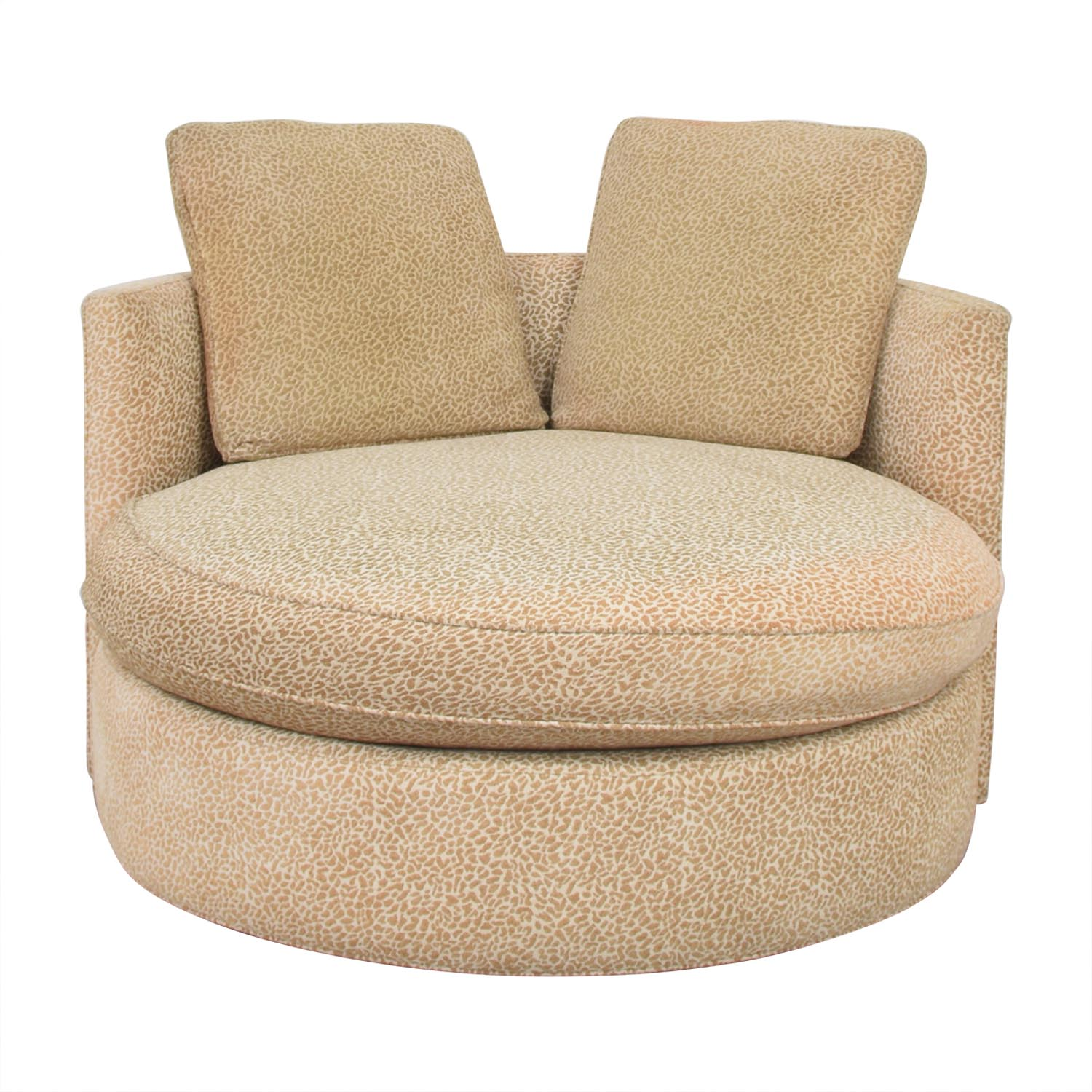 Macy's Macy's Circle Swivel Chair used