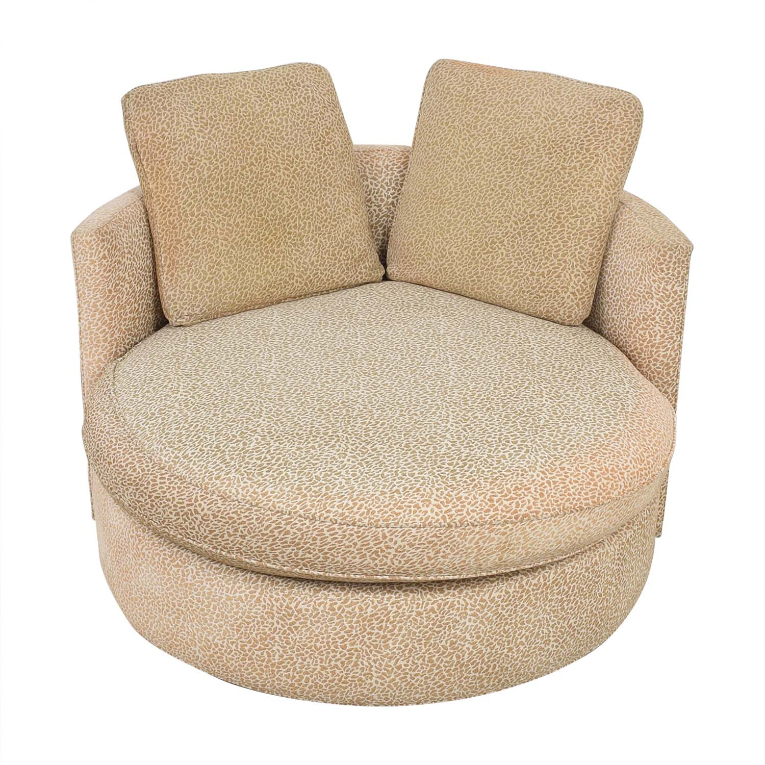 Macy's Macy's Circle Swivel Chair