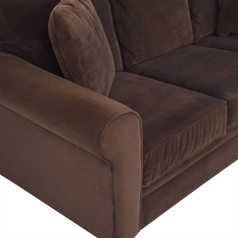 Macy's Macy's Roll Arm Sofa second hand