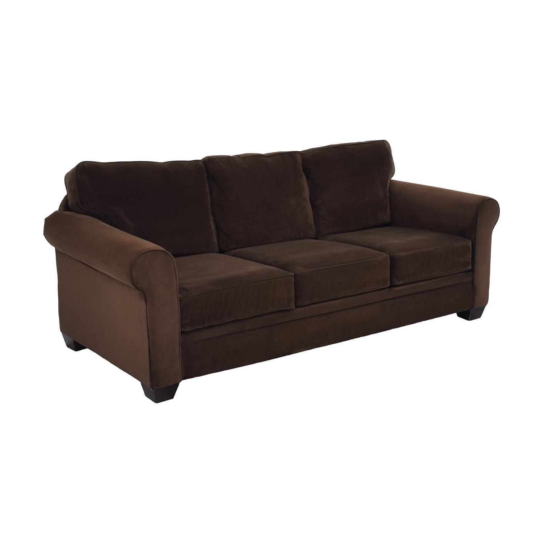 Macy's Roll Arm Sofa sale