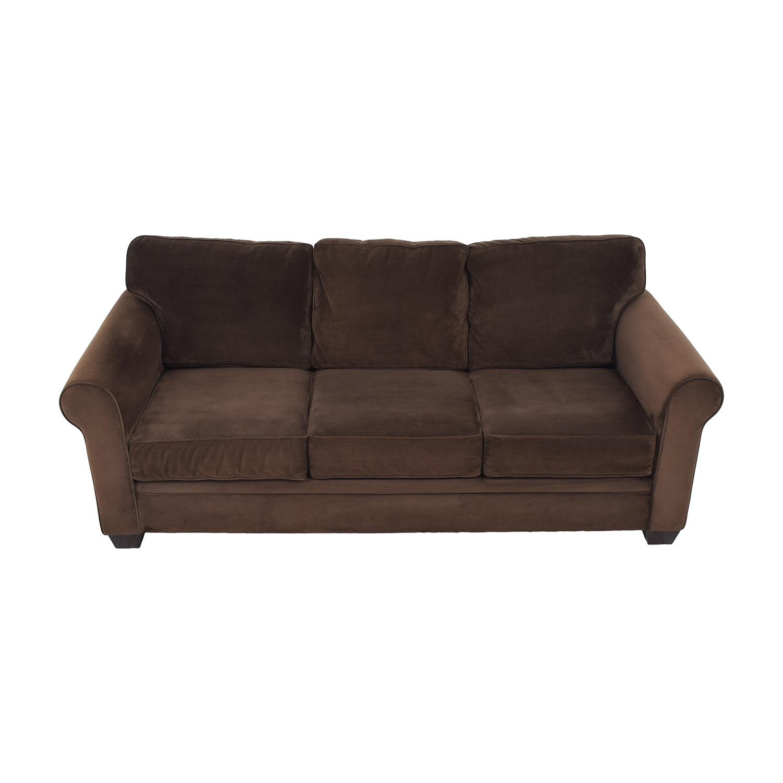 Macy's Macy's Roll Arm Sofa used