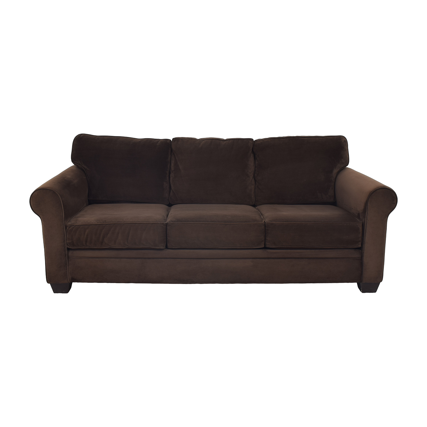 Macy's Macy's Roll Arm Sofa ct