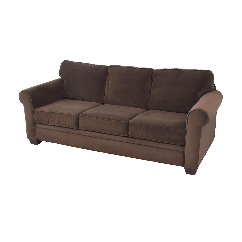 Macy's Macy's Roll Arm Sofa pa