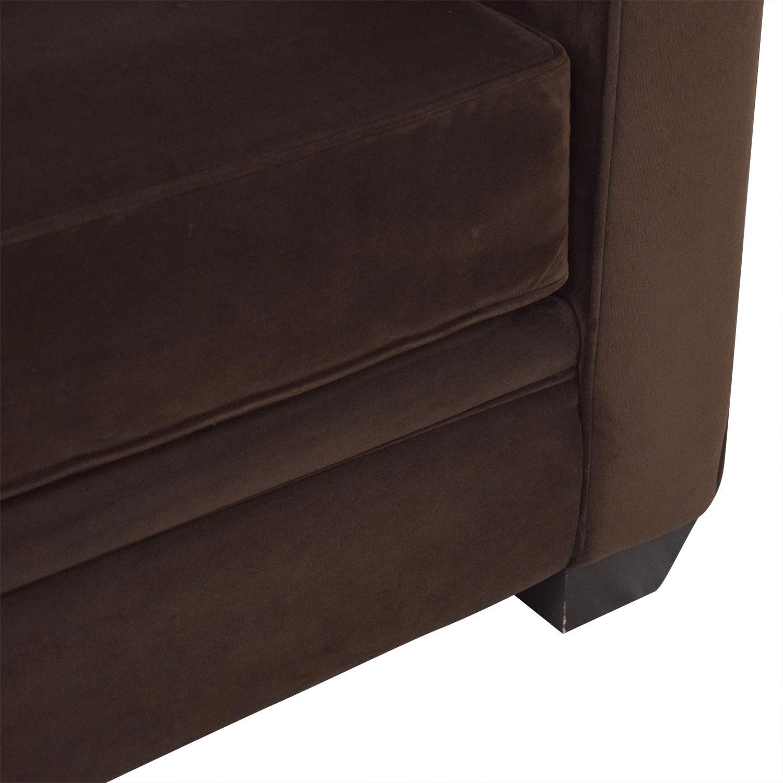 Macy's Macy's Roll Arm Sofa for sale