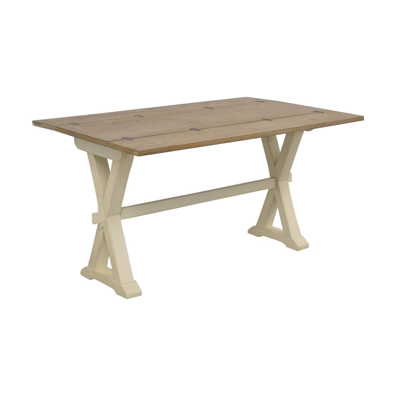 shop Universal Furniture Great Rooms Drop Leaf Console Table Universal Furniture Dinner Tables