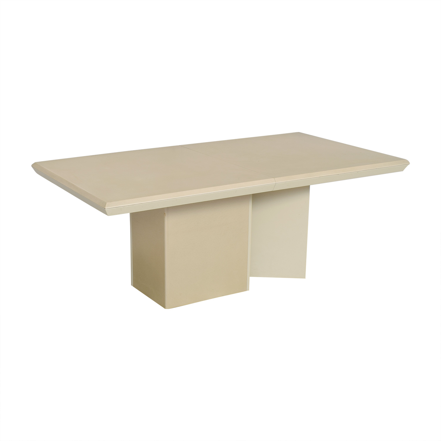 Carrier Furniture Carrier Furniture Extendable Dining Table off white