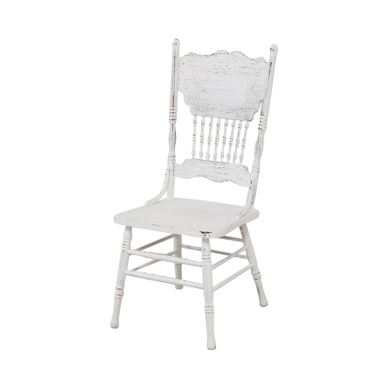 shop White Farmhouse Dining Chairs