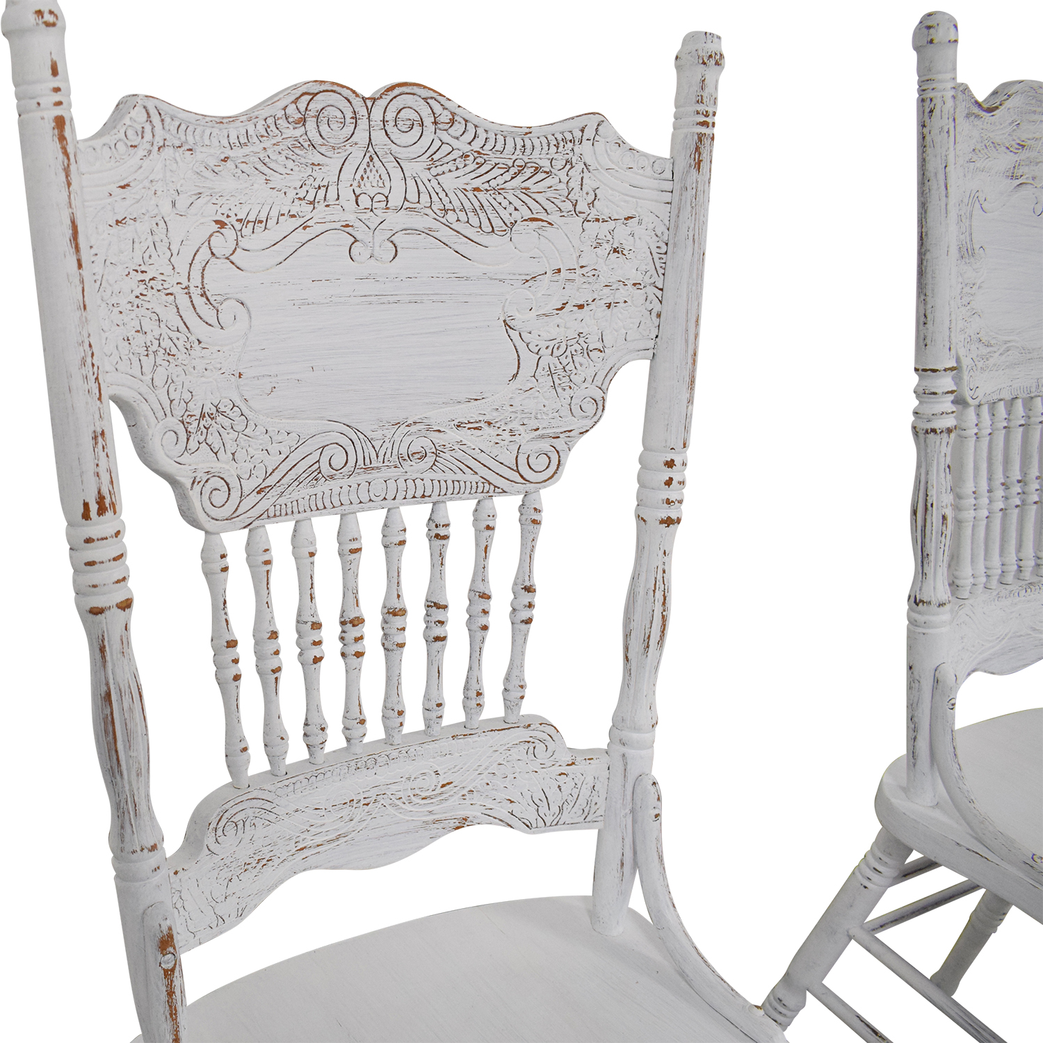 White Farmhouse Dining Chairs / Chairs
