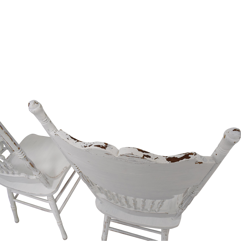 White Farmhouse Dining Chairs