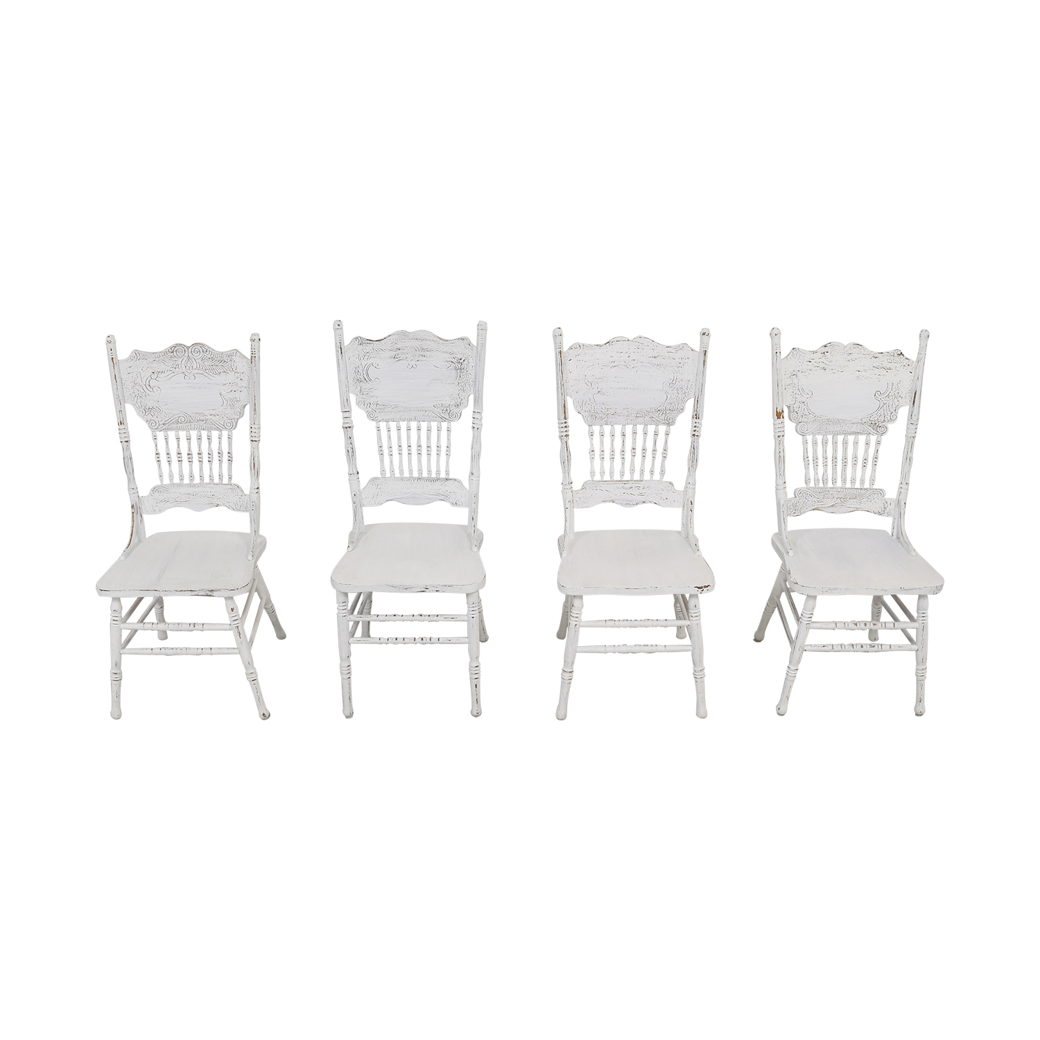 buy White Farmhouse Dining Chairs  Dining Chairs