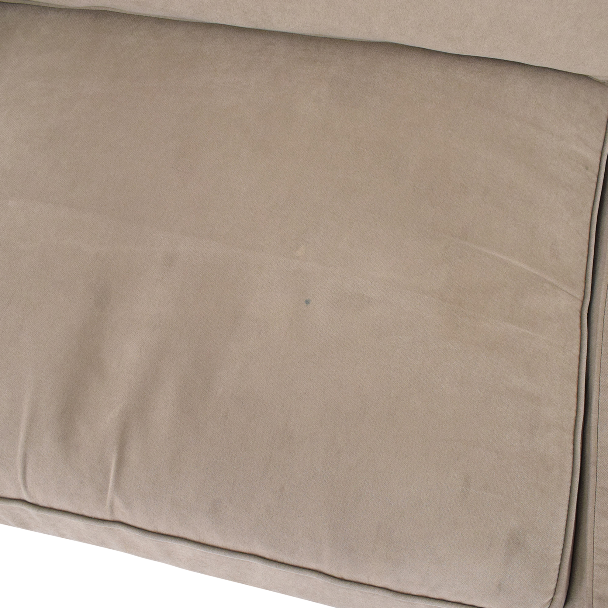 Room & Board Room & Board York Sectional Sofa dimensions